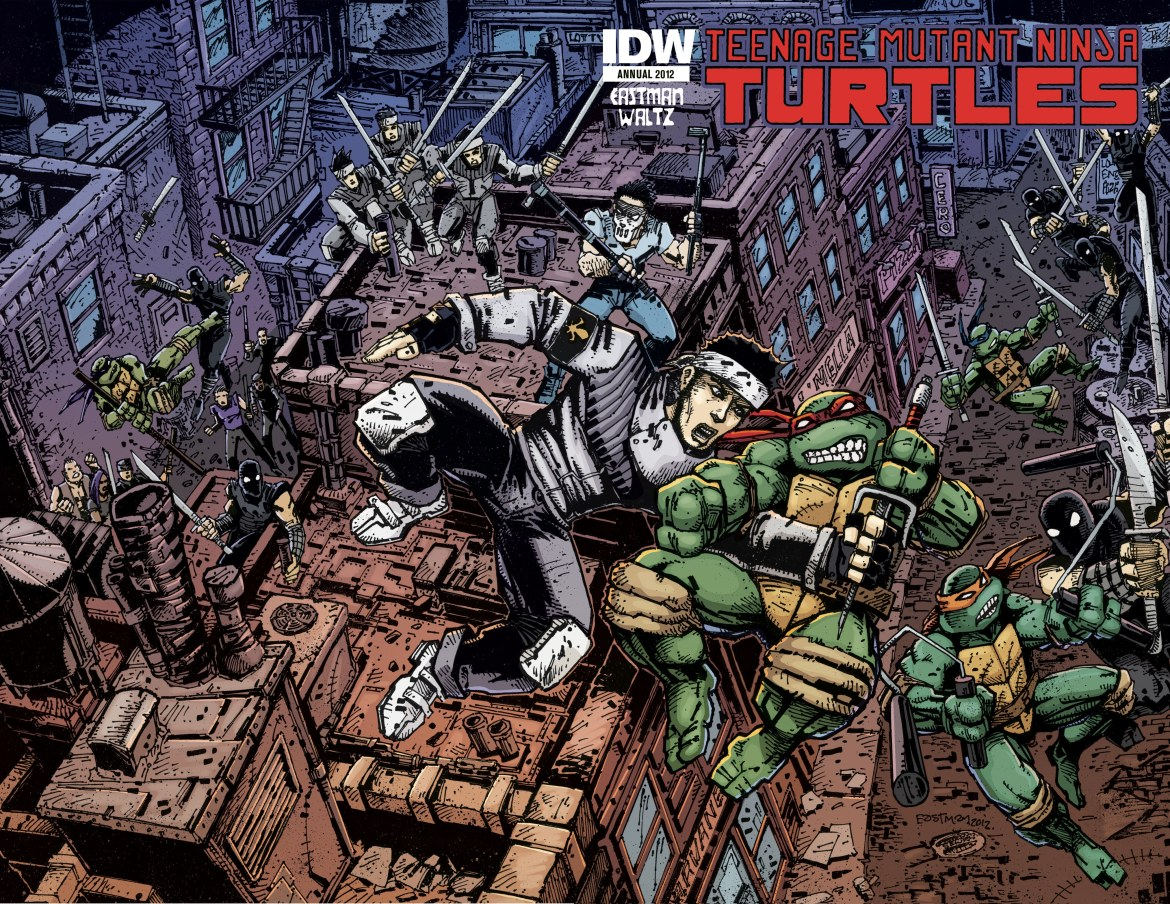 TMNT_Annual_Image Kevin Eastman to write and draw TMNT Annual 2012