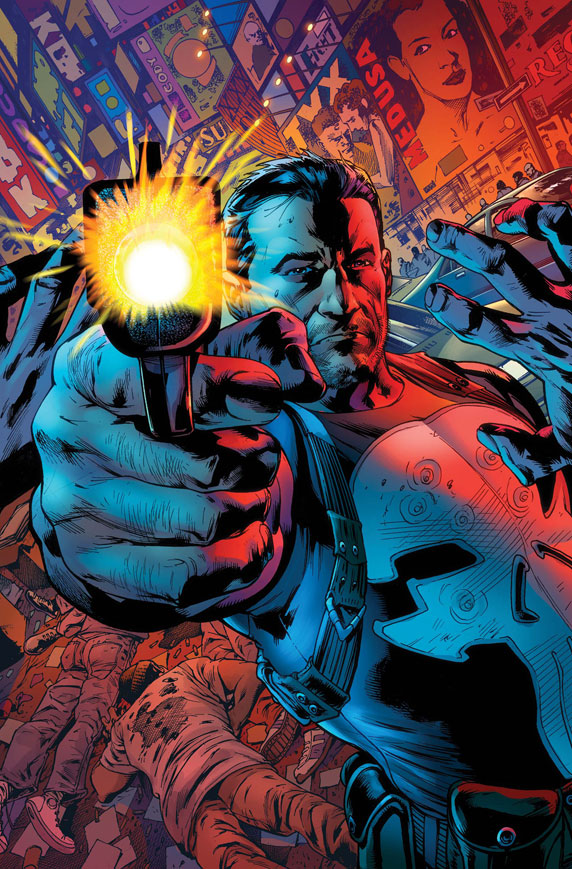 ThePunisher_1_Cover First Look at THE PUNISHER #1