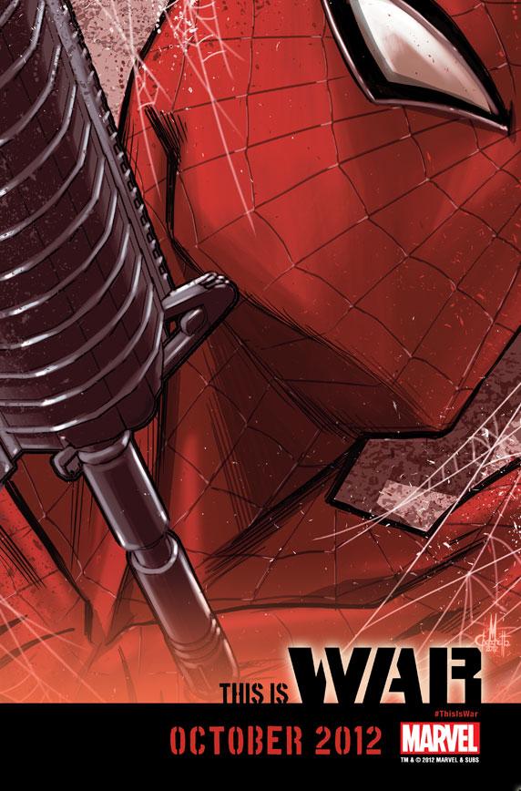 ThisIsWAR_Spiderman This is a Punisher WAR! Zone!