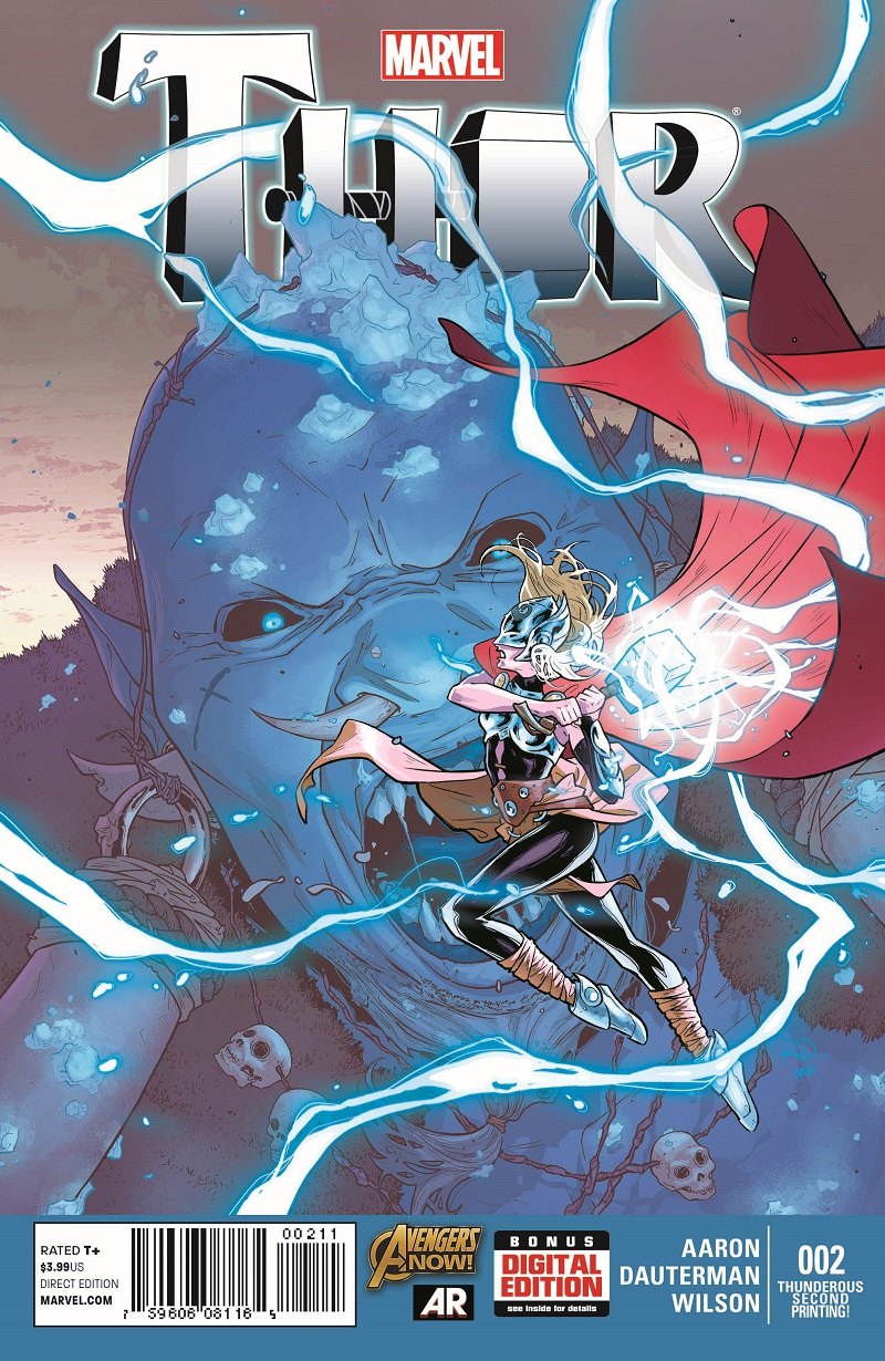 Thor_2_Second_Printing Three Avengers NOW! titles earn second printings