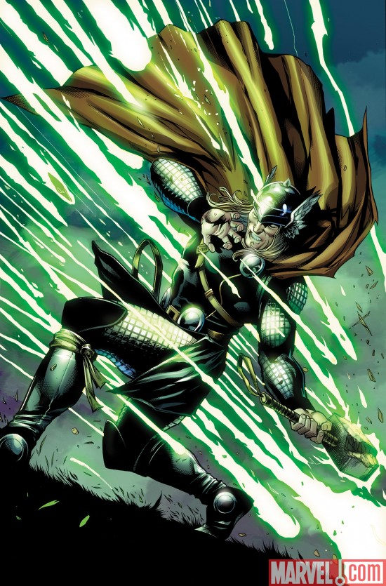 Thor_602_SecondPrintingVariant Marvel Kicks Off the Summer With Red-Hot New Printings