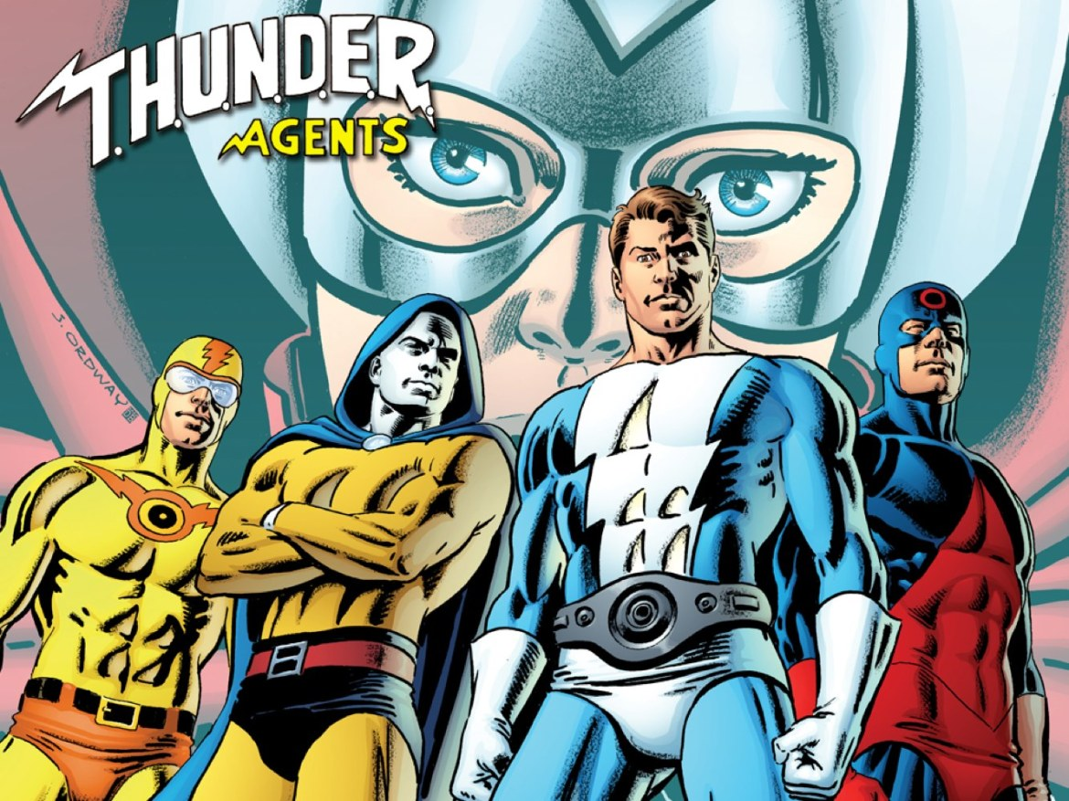 Thunder_Agents IDW touts an all-star team for THUNDER AGENTS