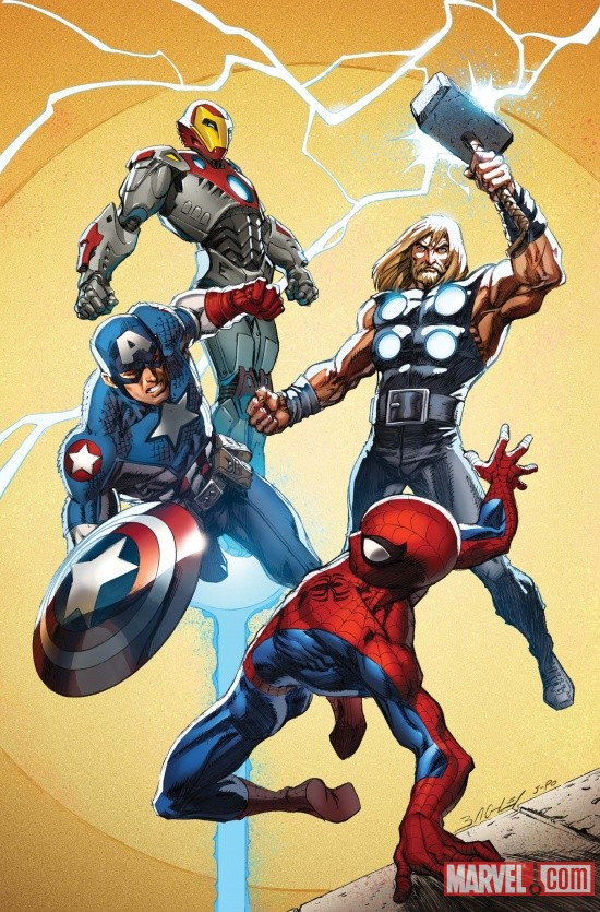 UCSM_157_Cover Marvel Unveils New DEATH OF SPIDER-MAN Covers