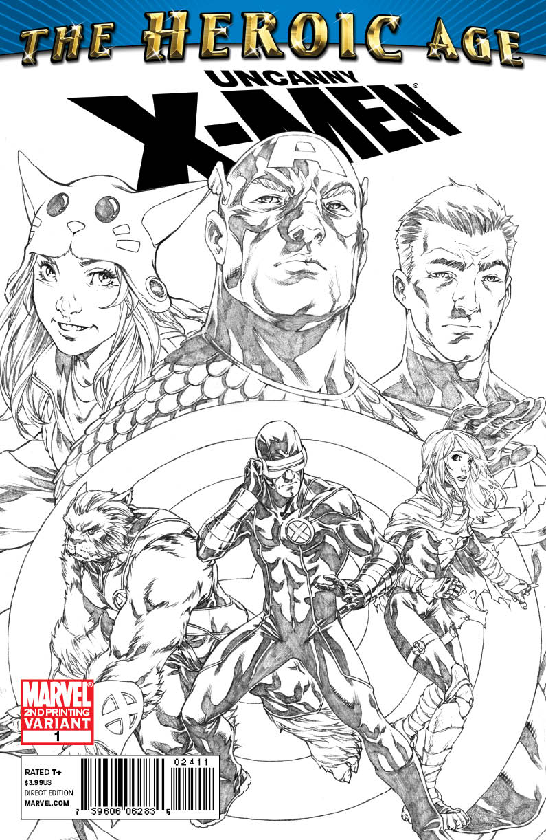 UNCXHA001_2nd UNCANNY X-MEN THE HEROIC AGE #1 sells out, gets 2nd printing