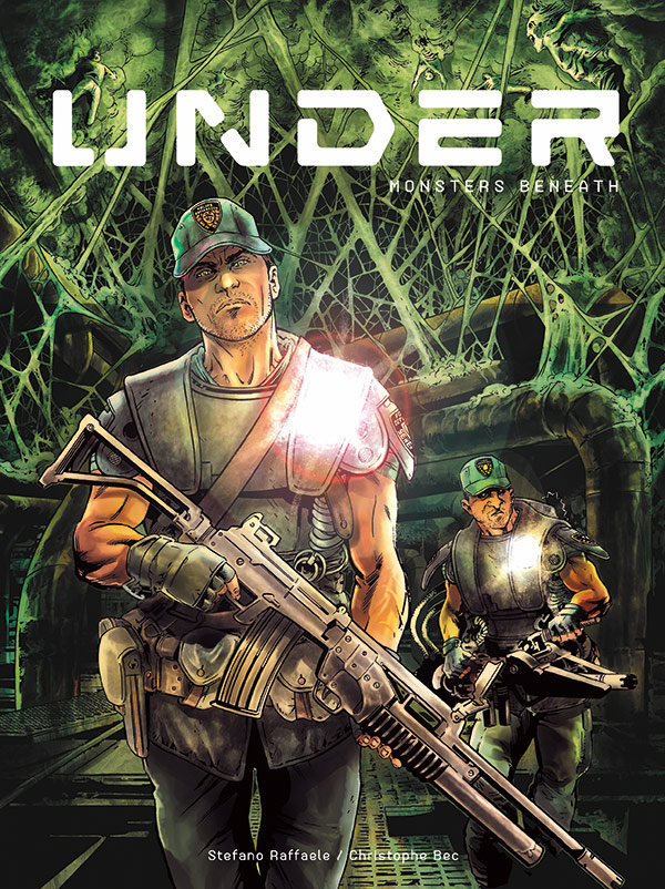 UNDER_Cover First Look at UNDER VOLUME 1: MONSTERS BENEATH