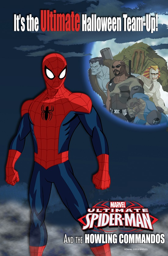 USMHowlingCommandos Marvel to make halloween history on Disney Channel