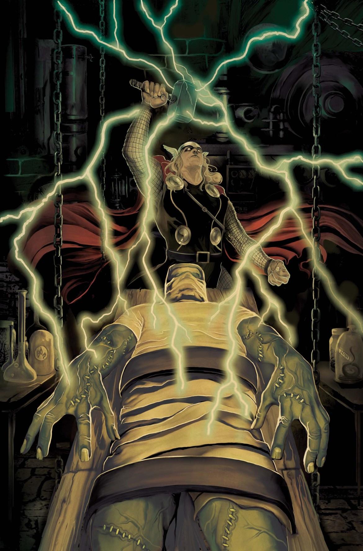 UXFORCE007_ThorHWOOD_Var Marvel Reveals THOR GOES HOLLYWOOD Variants
