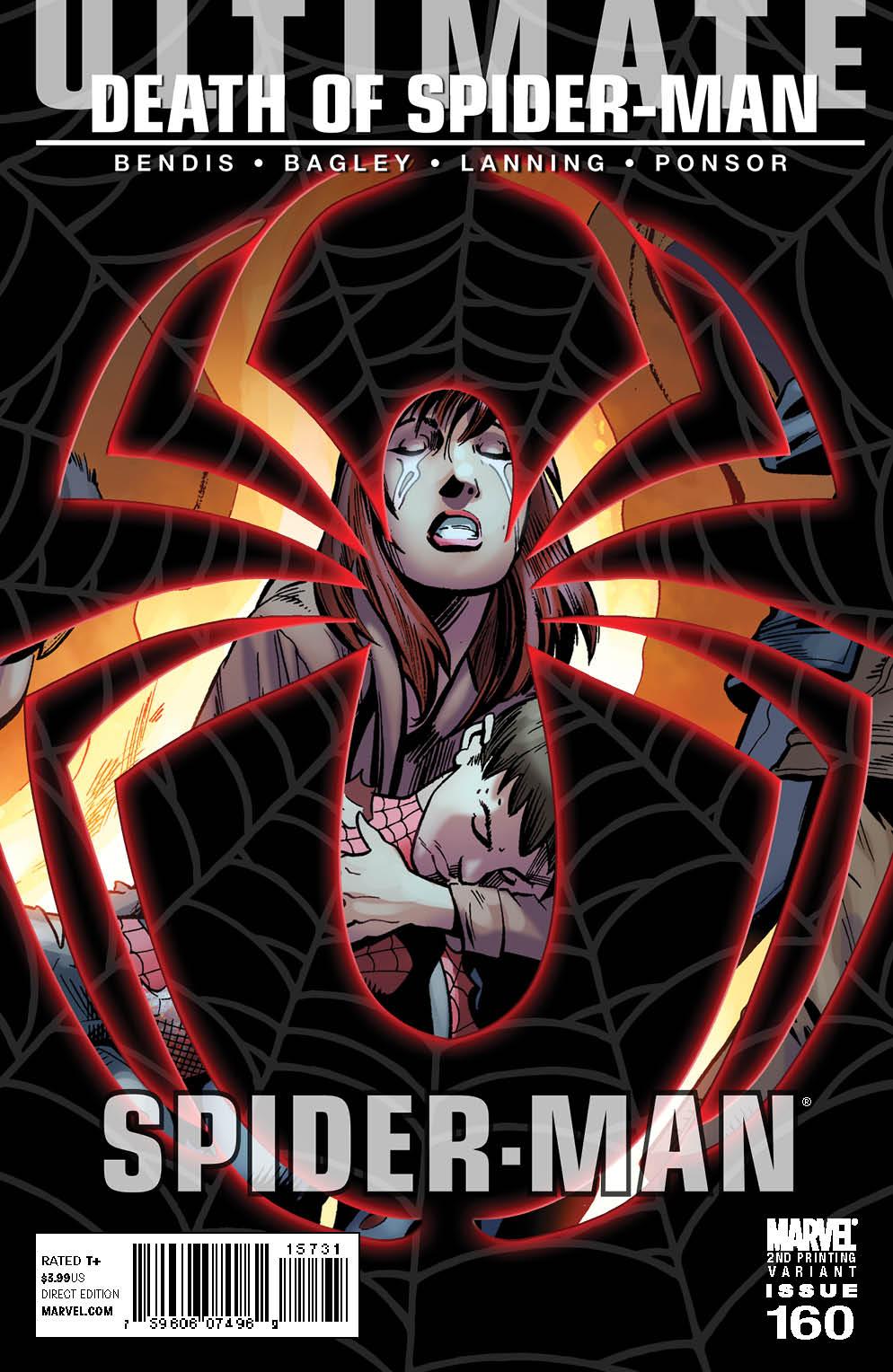 UltimateComicsSpiderMan_160_2nd ULTIMATE COMICS SPIDER-MAN #160 gets second printing