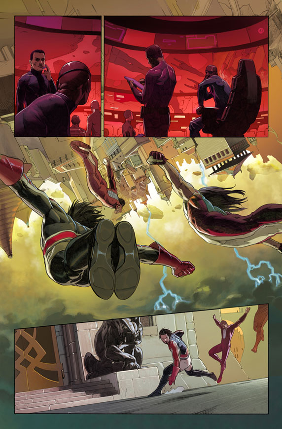 UltimateComicsUltimates_1_Preview2 First Look At ULTIMATE COMICS ULTIMATES #1