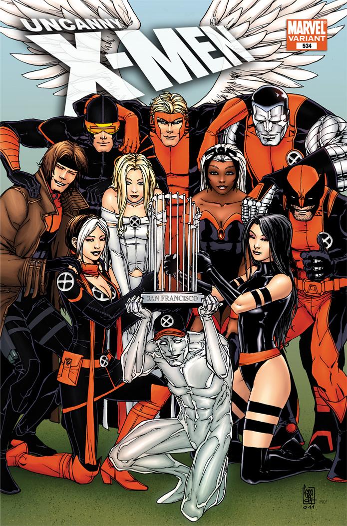 UncannyX-Men_534WonderConVariant Marvel to produce exclusive Uncanny X-Men #534 WonderCon variant