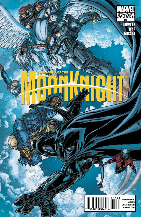 VMOONKN_10_2nd VENGEANCE OF THE MOON KNIGHT #10 gets second printing