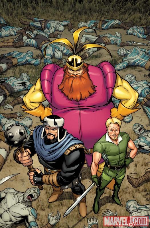 WARTHREE_1_COV Marvel Announces Willingham and Edwards' WARRIORS THREE