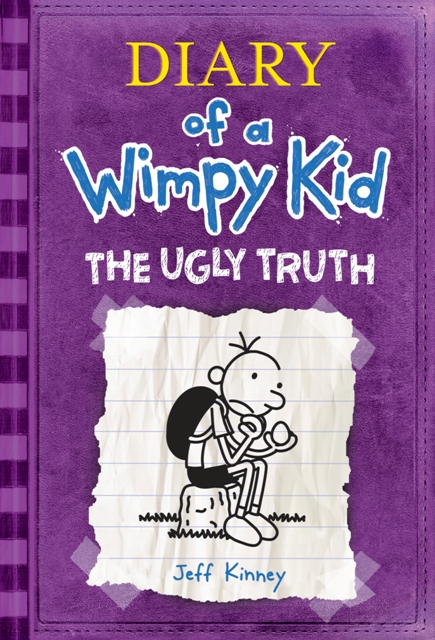 WIMPY5coverweblargelowres Amulet Books announces fifth Wimpy Kid Diary THE UGLY TRUTH