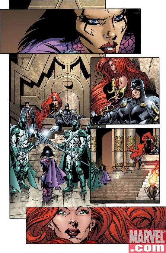 WOK1_7 War of Kings #1 Preview