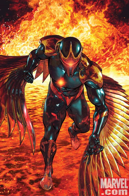 WOK_DarkHawk_02 War of Kings Begins and Darkhawk Soars High With A Sell Out