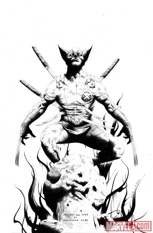 WOLVERINE_1_Sketch First Look At Wolverine #1