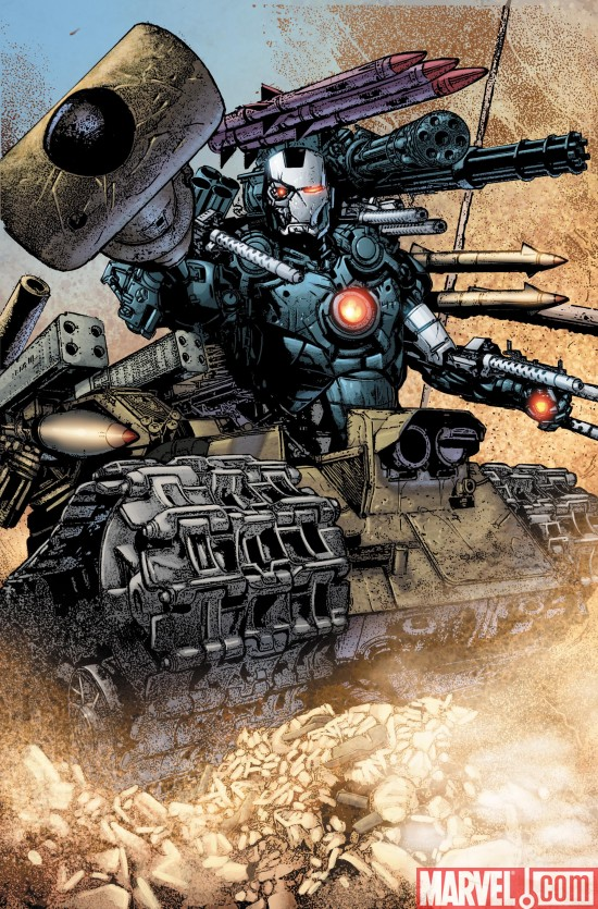 WarMachine_02_SecondPrinting Dark Reign Tie-Ins Continue To Return With New Printings