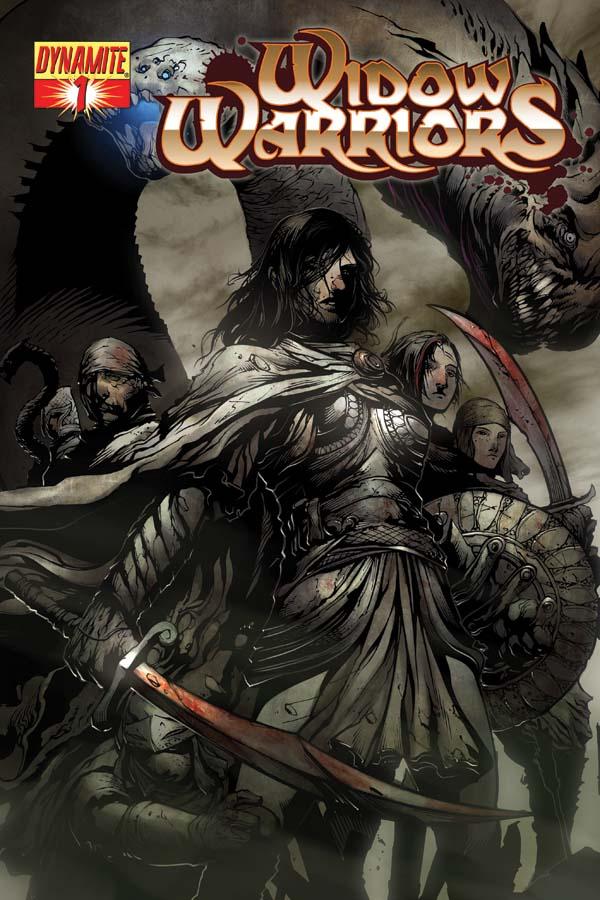 WidowWarrior01-cov-A Pat Lee returns to comics with WIDOW WARRIORS