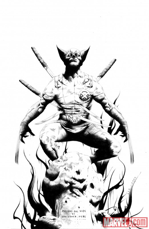 Wolverine_01_SketchVariantCover New Look at WOLVERINE GOES TO HELL