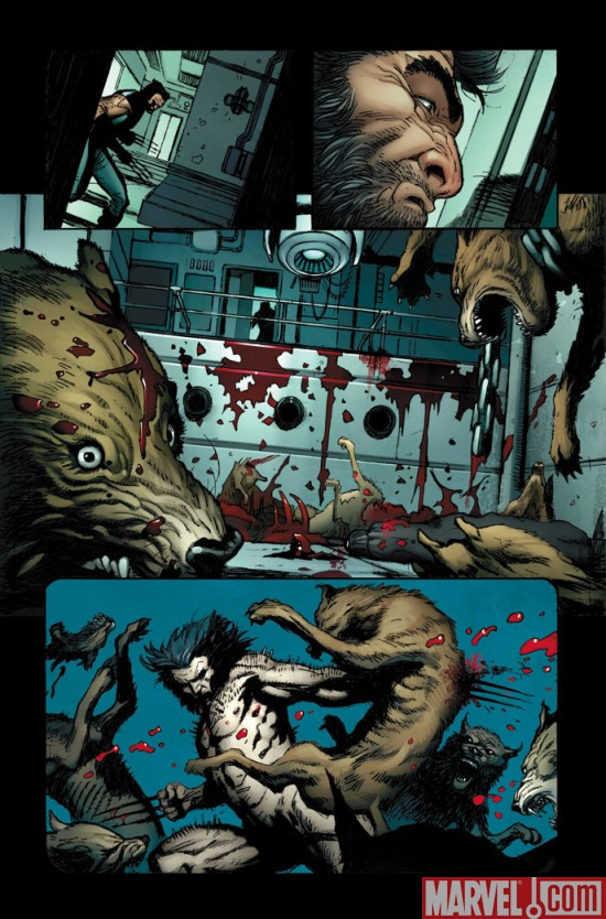 Wolverine_WeaponX__01_Preview3 Wolverine Weapon X #1 Preview