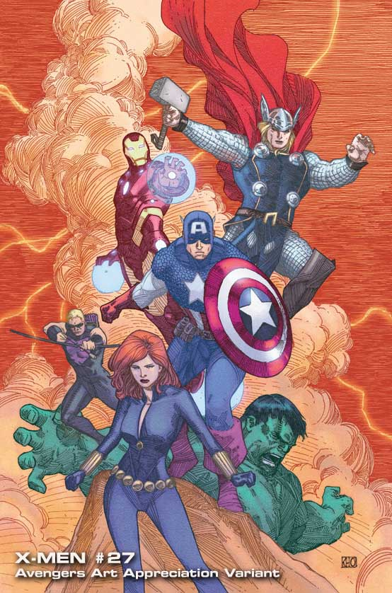 X-Men-27-AAA-KhoiPham Marvel discloses Avengers Art Appreciation Variant Covers