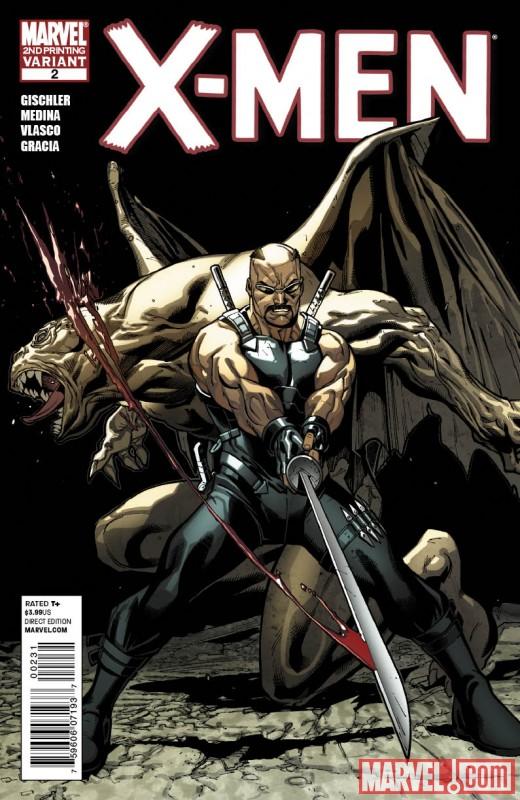 X-Men_02_SecondPrintingVariant New Look At X-MEN #3