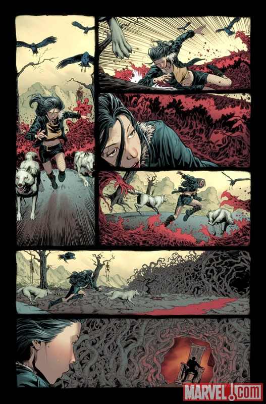 X23_01_Preview1 New Look at WOLVERINE GOES TO HELL