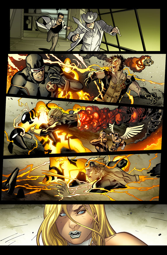 XMEN_12_Preview5 First Look At FIRST TO LAST: Chapter 2