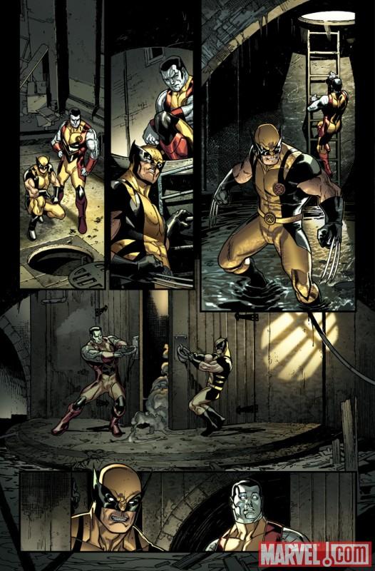 XMEN_2_Preview5 New Look At X-Men #2