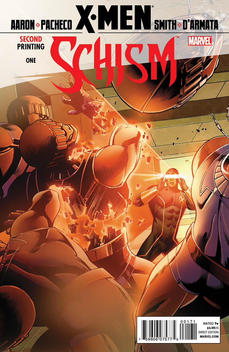 XMenSchism_1_SecondCyclopsCover X-MEN: SCHISM #1 sells out, gets new printing