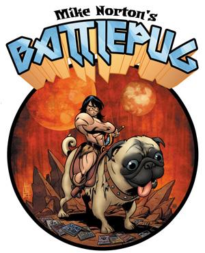 battlepug Dark Horse to collect Mike Norton's BATTLEPUG