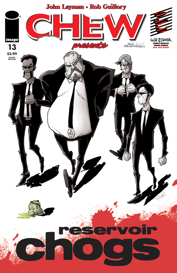 chew13_2nd_low CHEW #13 sold out at distributor, gets second printing