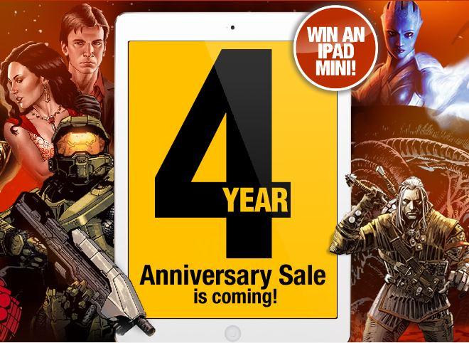 darkhorsedigital4 Dark Horse Digital celebrates fourth anniversary
