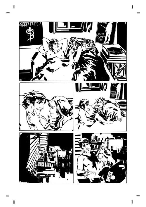dl_ink_p1 Preview the artwork behind Dark Horse's DEADLOCKE