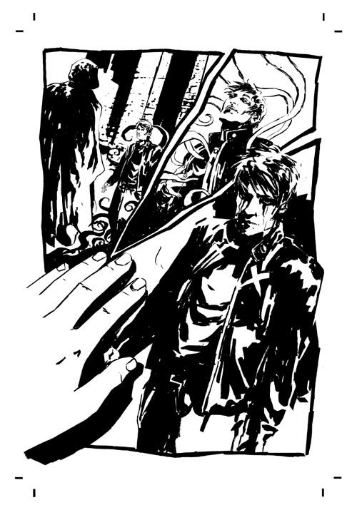 dl_ink_p2 Preview the artwork behind Dark Horse's DEADLOCKE