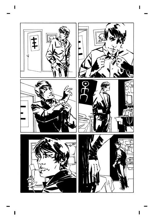 dl_ink_p4 Preview the artwork behind Dark Horse's DEADLOCKE