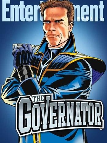 governator Arnold Schwarzenegger joins forces with Stan Lee for THE GOVERNATOR