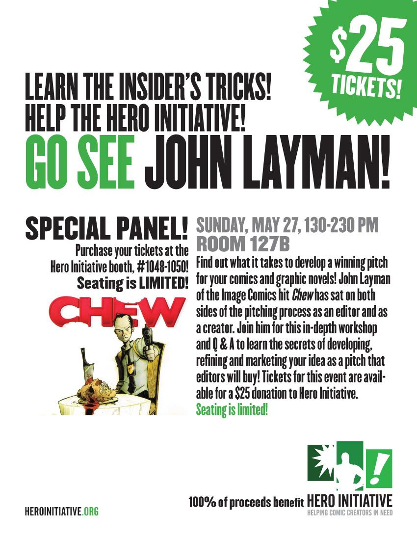 hero_sign_johnlayman Hero Initiative celebrates Memorial Day at Phoenix Comic Con