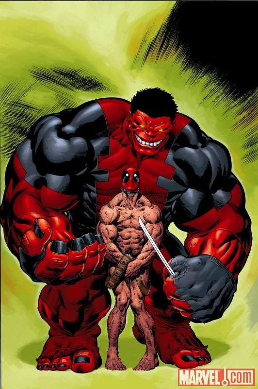 hulk16dpoolvar Hulk #16 Deadpool McGuinness Variant Uncovered