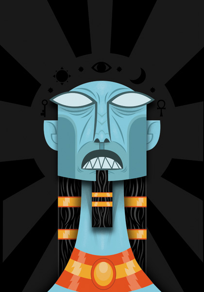 nyarlathotep_hc_cvr BOOM! Studios Brings H.P. Lovecraft's Nyarlathotep To Life