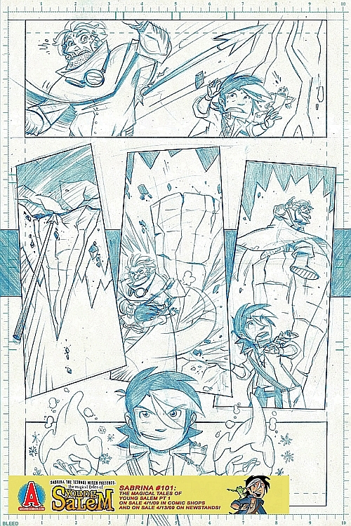 salem_preview3 A 9 Page Pencil Preview Of The Magical Tales Of Young Salem