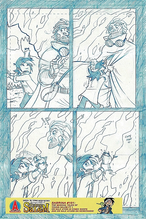 salem_preview8 A 9 Page Pencil Preview Of The Magical Tales Of Young Salem