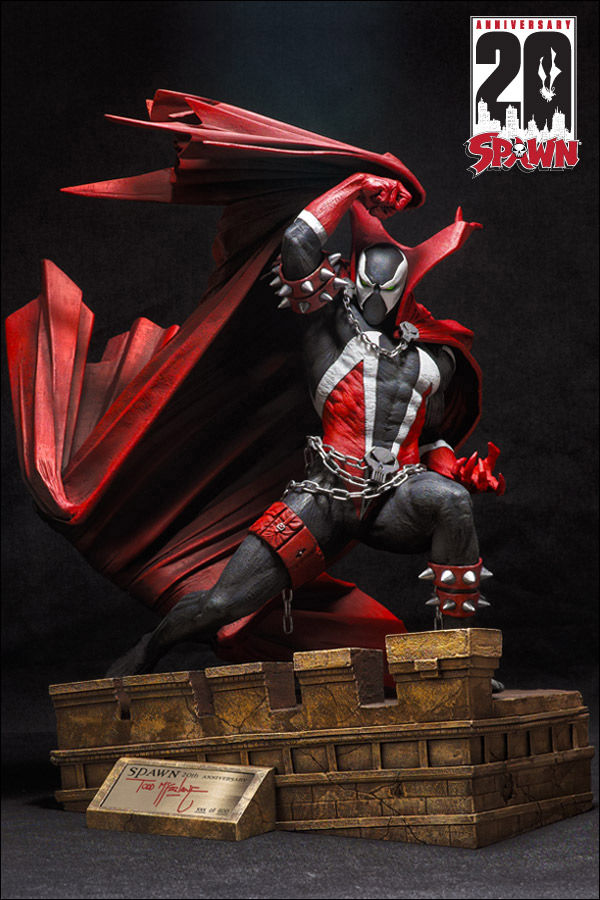 spawn20th_statue_news_01_cl McFarlane Toys celebrates Spawn's 20th anniversary with exclusive statue