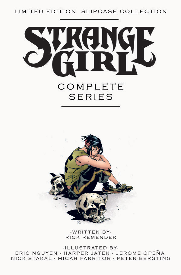 strangegirl_slipcase Strange Girl to be collected in limited edition slipcase