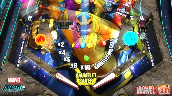 thanos_pinball Zen Studios to produce Marvel Pinball: Avengers Chronicles