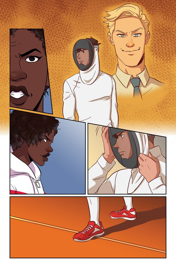 52654e51-a4ab-4a03-a50c-9f6be88208af Dream Daddy artist Shanen Pae to draw FENCE #5 variant cover