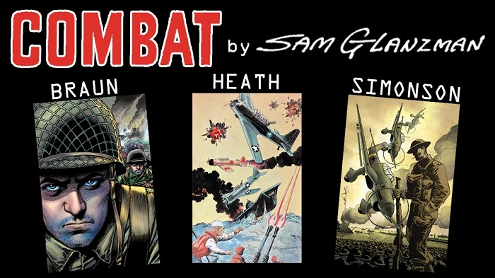 82cc81c4-e5b2-463e-9a63-f6aef734e9a1 IDW's IT'S ALIVE! imprint to publish Sam Glanzman's COMBAT