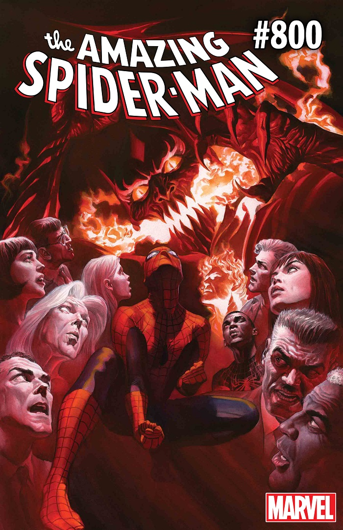 ASM_800_CVR The Red Goblin goes down swinging in AMAZING SPIDER-MAN #800