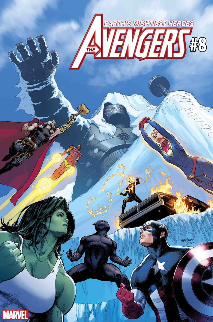AVENGERS008_CVR Superstar artist David Marquez joins Jason Aaron on AVENGERS #8