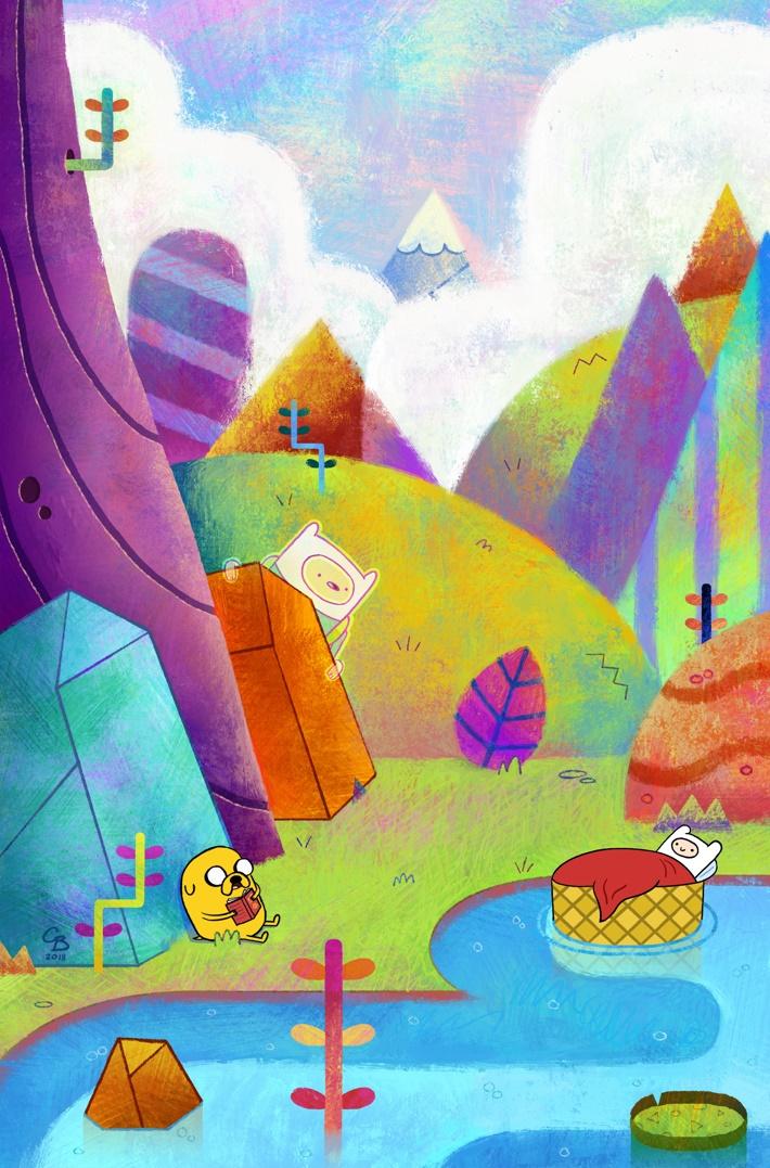 AdventureTime_BeginningOfTheEnd_001_VariantCover_Booth First Look at BOOM! Studios' ADVENTURE TIME BEGINNING OF THE END #1